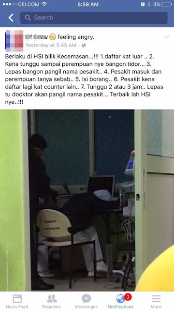 Doktor Tampil Jawab Isu Gambar Seorang Jururawat Tidur Jadi Viral