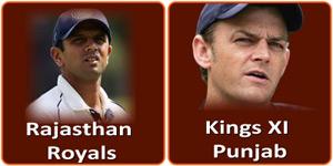 आइपीएल 6 का पचपनवां मैच किंग्स एलेवेन पंजाब और के राजस्थान रॉयल्स बीच होना है।