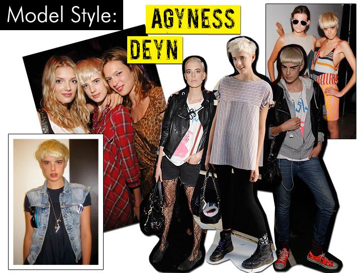 Agyness Deyn Styles