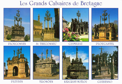 The great calvaries of Brittany, France