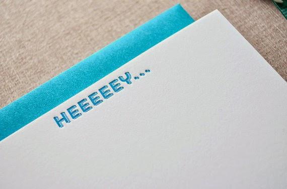 http://www.swankboutiqueonline.com/heeey-letterpress-notecards/