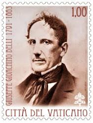 2013 - Il Vaticano emette il primo  francobollo per i 150° anni dalla morte