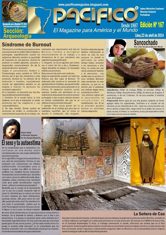 Revista Pacífico Nº 167 Arqueología