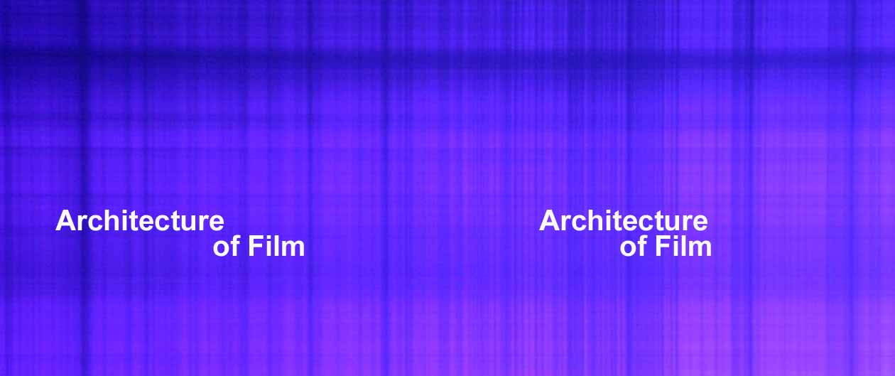 Architecture of Film