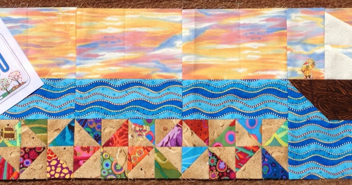 Susan S Quilt Creations 17 More Rows Sewn
