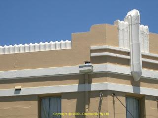 Zetland hotel facade detail