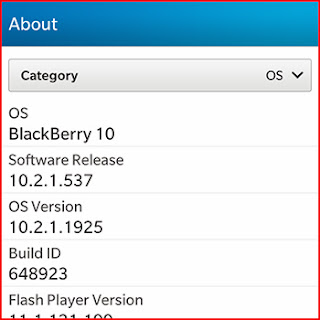 BlackBerry OS versi 10.2.1