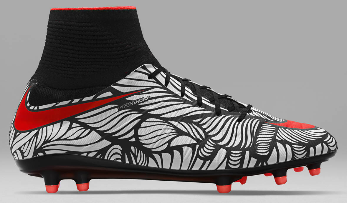 nike hypervenom phantom ii neymar 39 ousadia alegria 39 2016. Black Bedroom Furniture Sets. Home Design Ideas