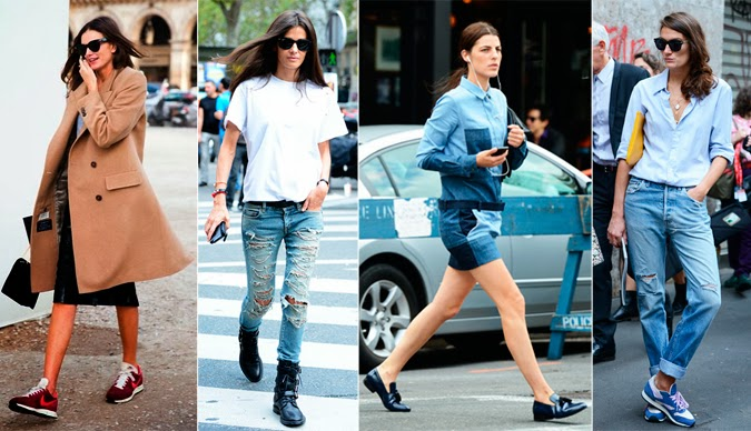 Street style zapato plano