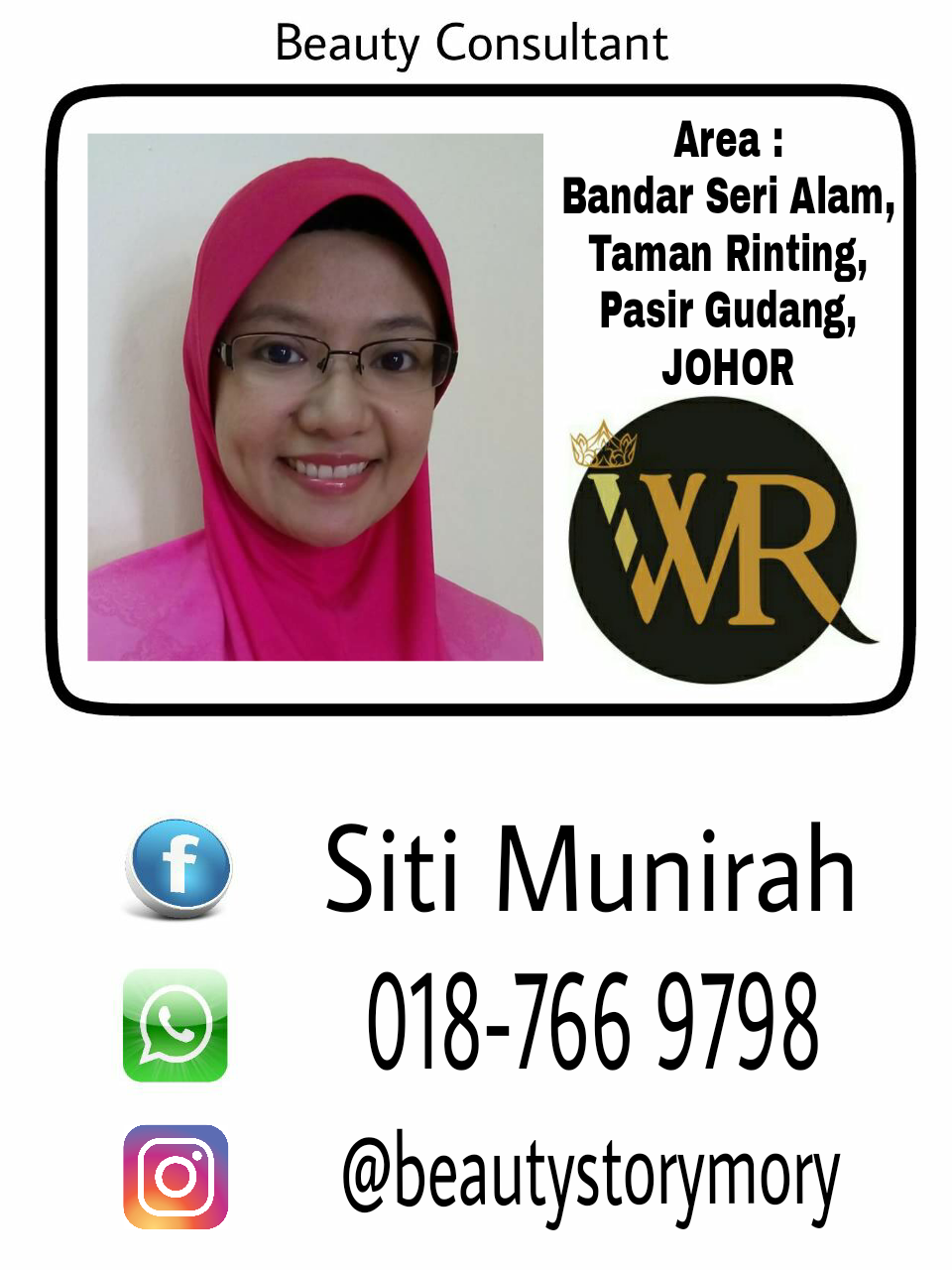 WR Beauty Consultant :)