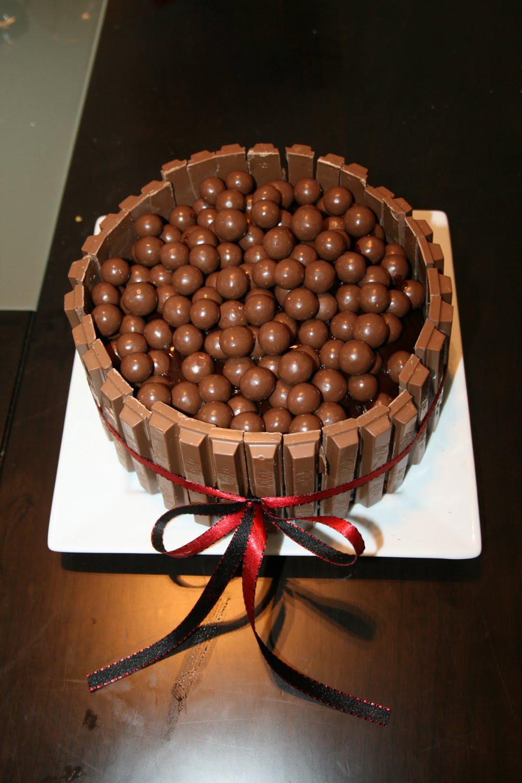 I M Hungry Too Kit Kat Maltesers Cake
