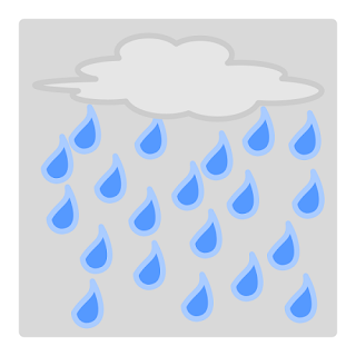 how rain happens - explantion text