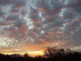 Sunset Sky, Chania, Crete, January 2014