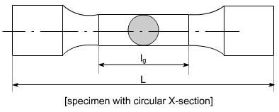 Standard Specimen Bar used for tensile  test On UTM
