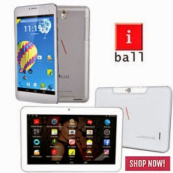 Groupon: Buy iBall D20 Tablet at Rs. 5949, iBall 1026 3G Tablet at Rs. 9949