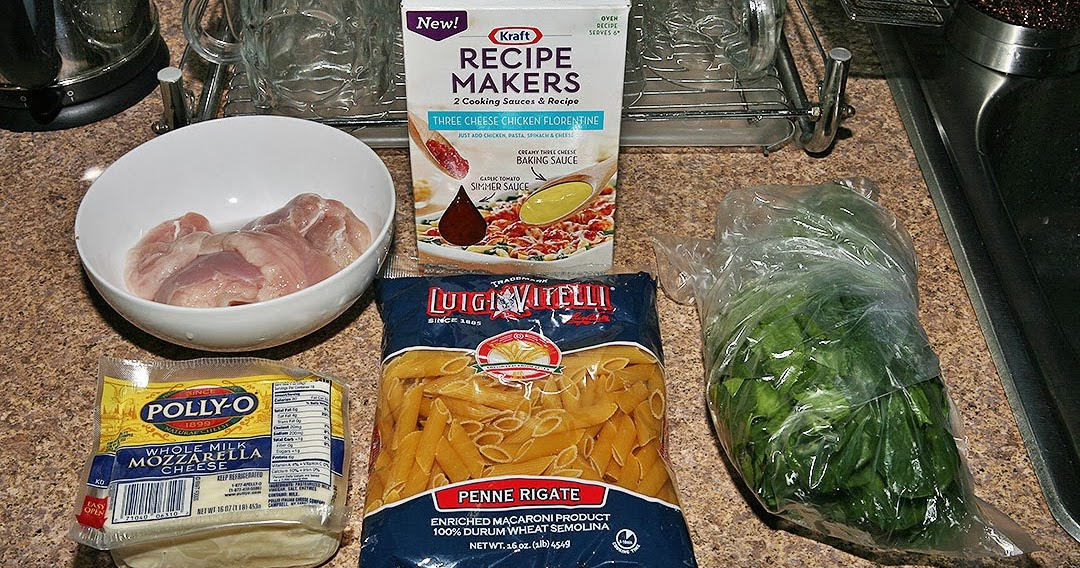 kraft recipe makers three cheese chicken florentine