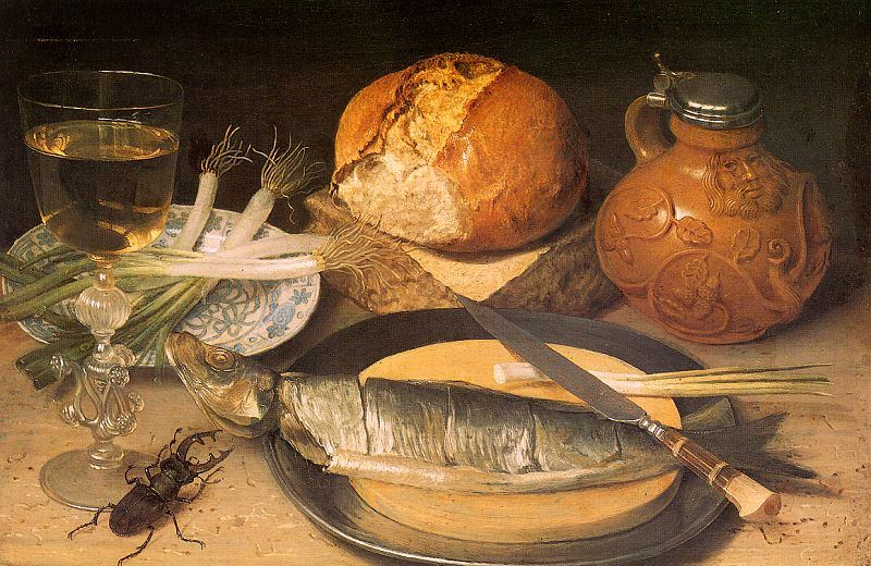 Georg flegel 1566 1638 german still life painter blog for 17th century french cuisine