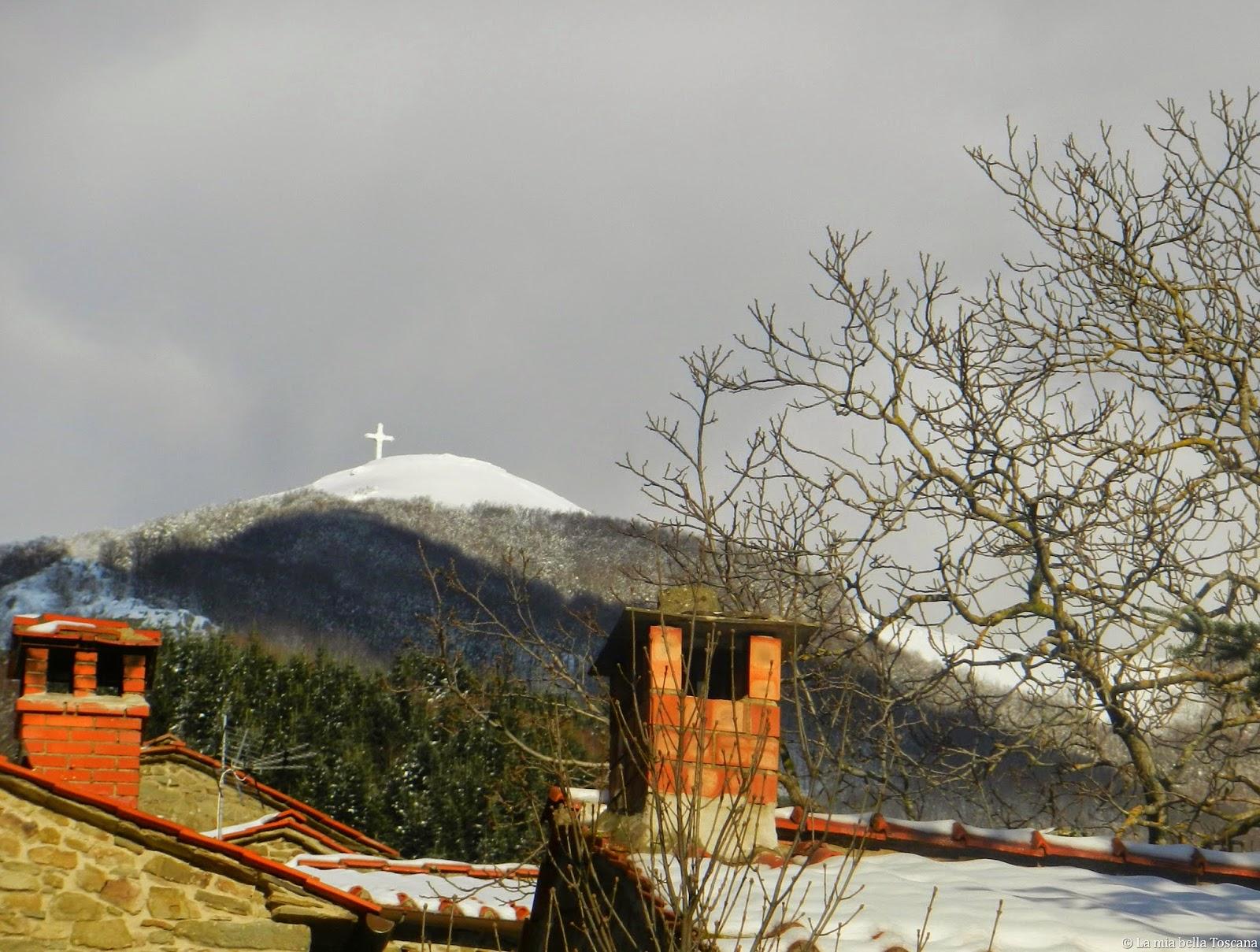Croce del Pratomagno, Valdarno, Toscana