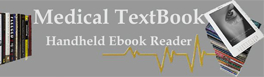Online Medical Textbooks and Handheld Ebook Reader