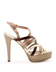 Pedro Miralles Gold & Bronze Sandals