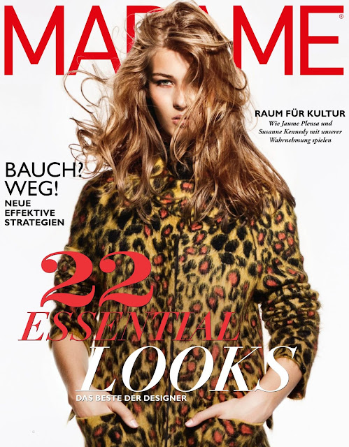 Fashion Model @ Elena Bartels - Madame Germany, September 2015