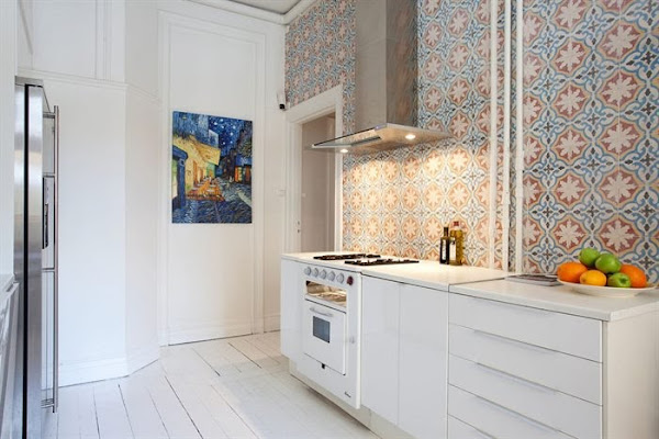 Acero inoxidable cocinas 3 decorar tu casa es - Forrar azulejos cocina ...