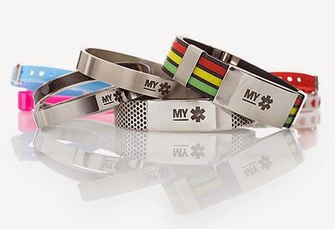 MYPOM - bracelets d'identification médicale