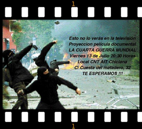 CNT-AIT SOV CÁDIZ: Proyección de película \