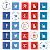 Invert Social, iconos sociales con colores invertidos al pasar el cursor