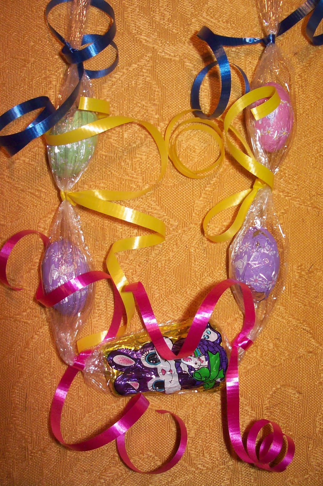 Candy cake and crafts easter necklace