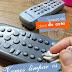 Controles remotos da TV - sempre limpos!