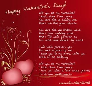 Kartu Ucapan Valentine Romantis 2013