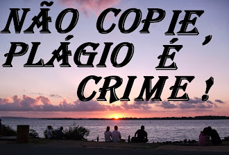 Não Copie. Plágio é Crime ! -- Do not copy. Piracy is a Crime!