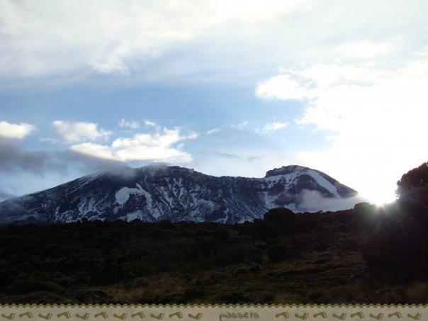 Cima kilimanjaro desde Shira Camp