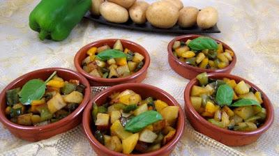 طريقة عمل البطاطس والفلفل, اكلات بالبطاطس, بطاطس, اكلات