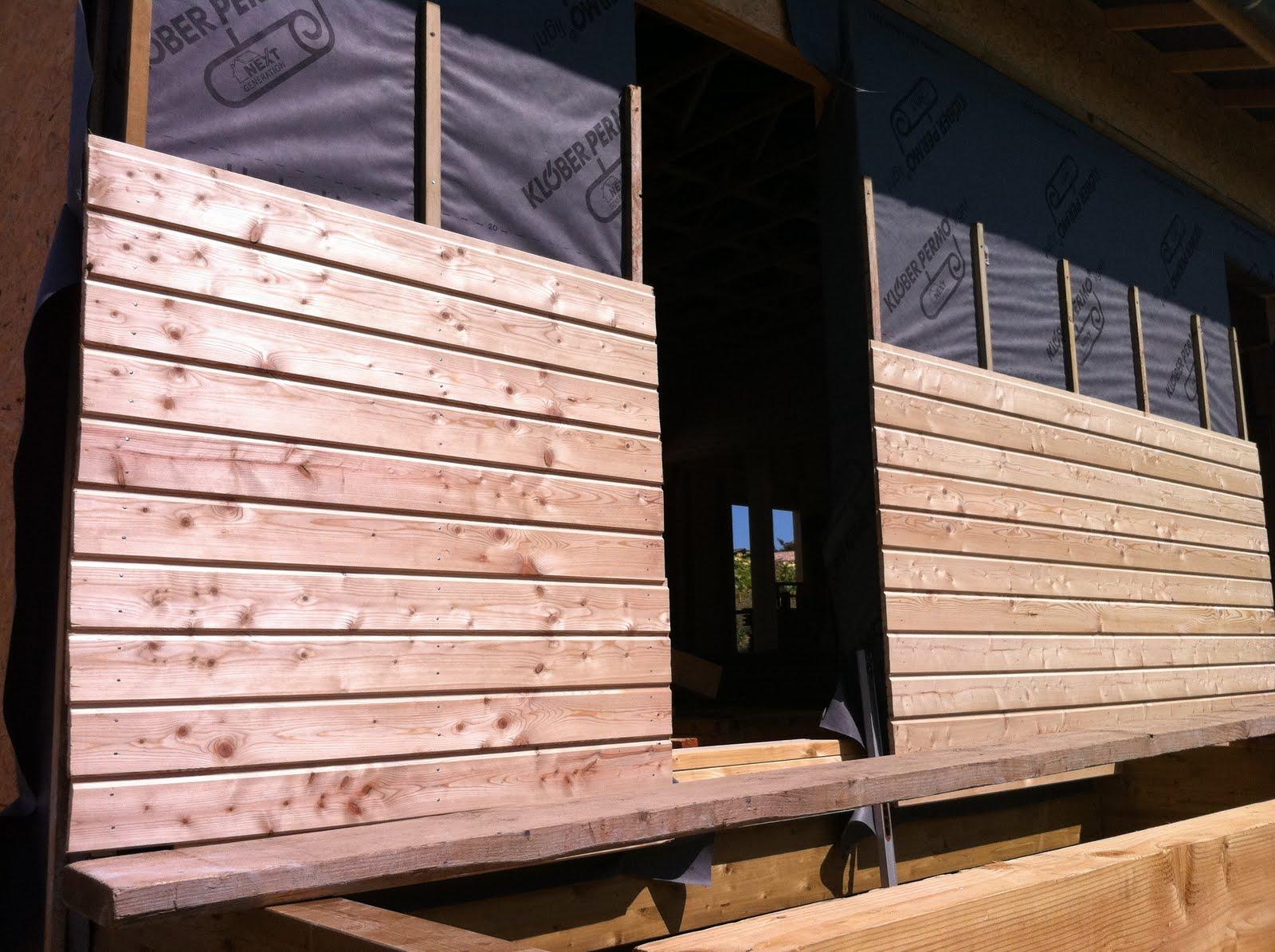 l 39 homme des bois finition bardage. Black Bedroom Furniture Sets. Home Design Ideas