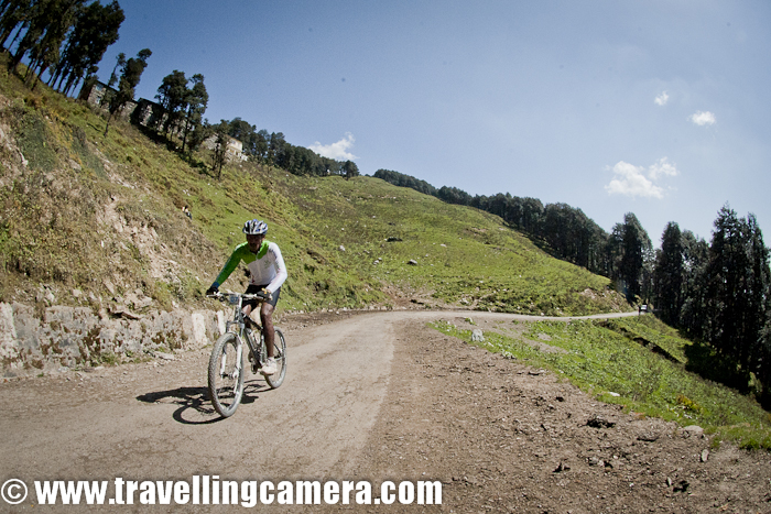 Again the time has come for adventurous events in winters and Mountain Terrain Biking in Himalayas is going to happen in October. Today only I got a call from one of the photographers who is going to cover MTB Himalayas 2012. Since, I get to explain some basic things/preparations repeatedly, I thought of putting it here for future reference.Preparing equipments - When it comes to equipments, there are few basic things you need to consider -- Dusty environment, so minimal efforts for changing lenses. Better to carry two bodies. Choice of lenses on two bodies will depend of kind of things to be shot and their basic nature.- Extra Batteries are must as you never know that when you need to recharge and at times, it's difficult to find charging points at right time. Especially when camping in wild. - Fast Lenses would be helpful for capturing action in better way... Especially in MTB (Mountain Terrain Biking) events, these are required. - Camera shield to save it from showers, which can welcome you anywhere anytimeList can go on n on, but these are few very basic things Shooting Strategy - This can vary from on shooting style to another, but basic rule is to identify right place to shoot in advance. There is hardly any time when event is on, so you need to move ahead for right location & identify your frames etc. This is  most important thing that adds lot of value to quality of shots you get. At the same time, it's also important to have flexibility to move around, means a dedicated vehicle is must thingAlways carry some snacks & drinks with you..Light varies from one place to another and time variation has also a big role to play. So you need to be very fast with settings for capturing right action with appropriate spiritAlthough light in hills during day would be harsh but some interesting things can be tried with it. All the Best and looking forward to some interesting shots !!!
