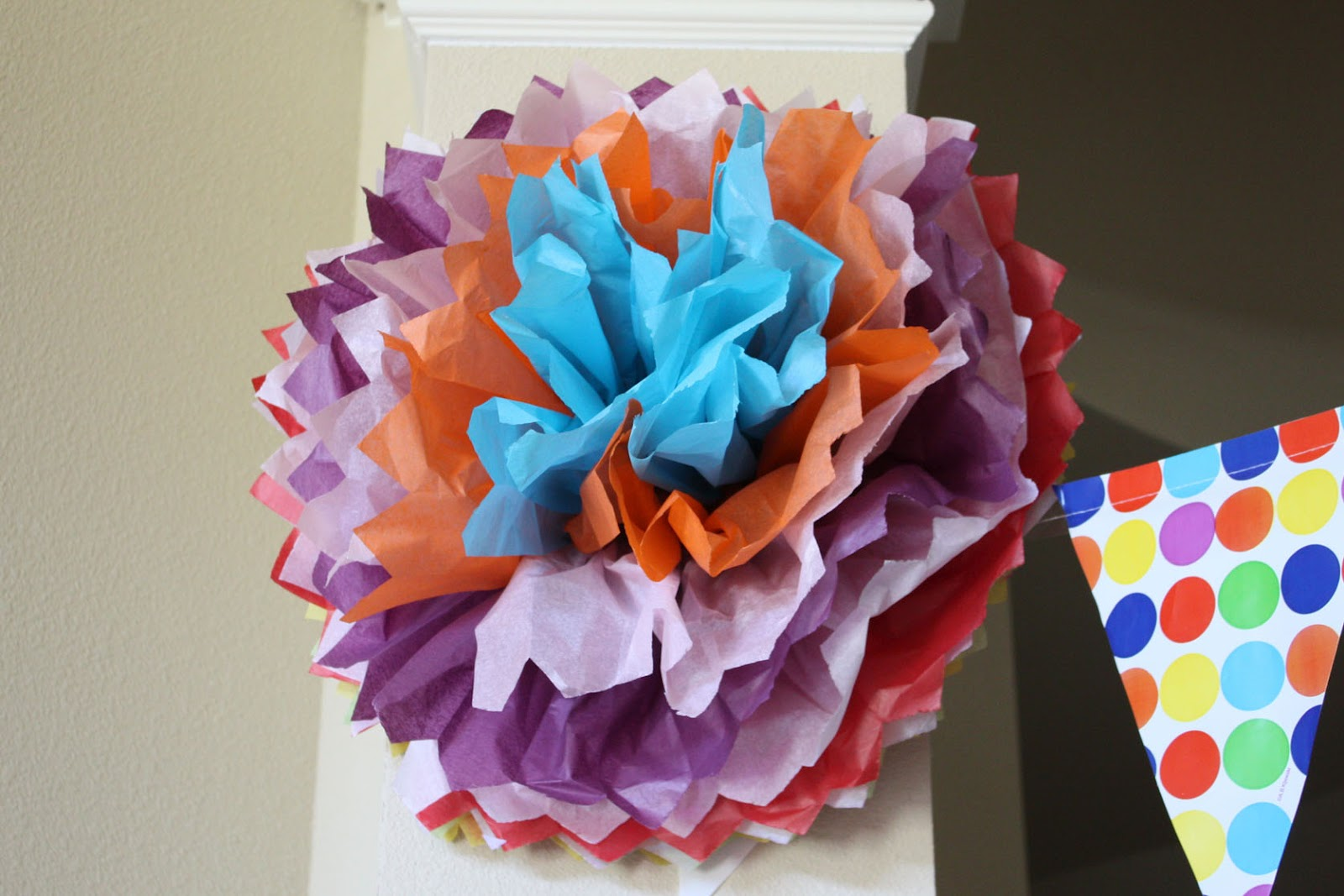 how make tissue paper pom poms Remember last week when i posted the tutorial for how to make tissue paper pom poms did you know that you can do exactly the same thing on a smaller scale and make tissue paper flowers.