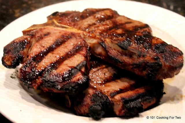 How to Grill a T-bone or Porterhouse Steak - A Tutorial from 101 Cooking For Two