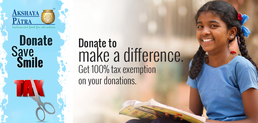 Donate Now & Save TAX Today