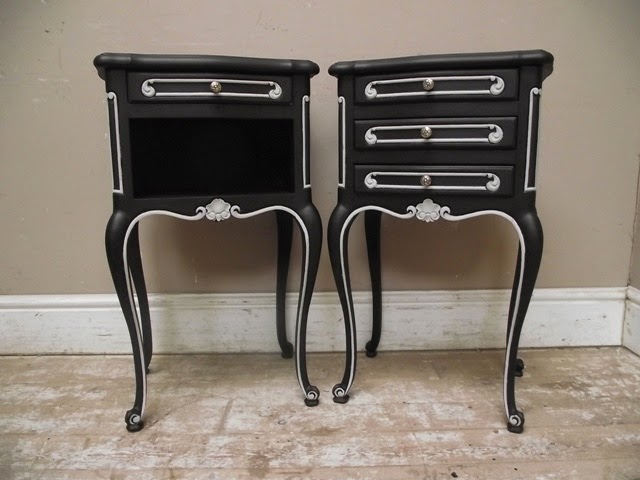 How to Antique Furniture Black
