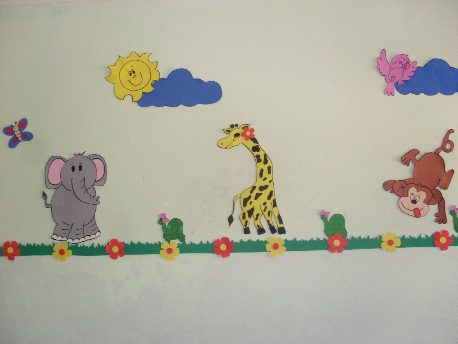 decoracao de sala aula educacao infantil: SABERES: DECORAÇÃO DAS SALAS DE AULA – Creche Edinólia Melo