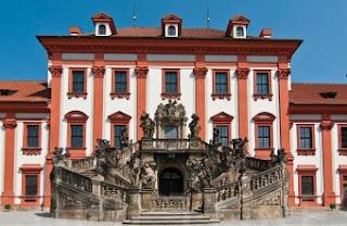 Exterior del Palacio de Troja - Praga