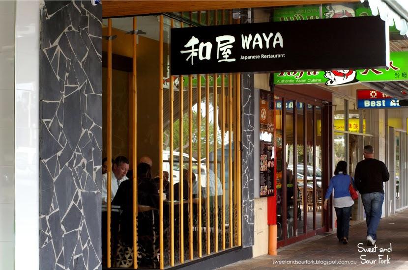 sweet and sour fork has moved waya japanese restaurant. Black Bedroom Furniture Sets. Home Design Ideas