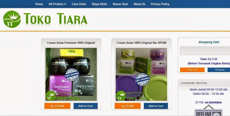 toko online kosmetik dan kecantikan