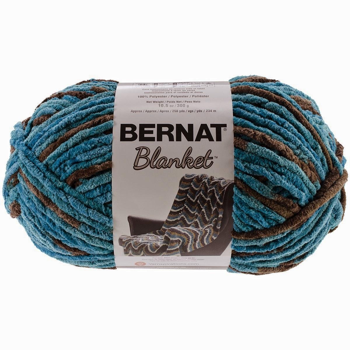 Crochet Patterns Made With Bernat Blanket Yarn : Bernat Blanket Review