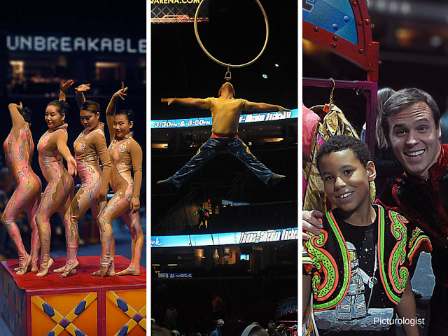Pre-show Circus Xtreme photos by Kenneth Johnson, Picturologist