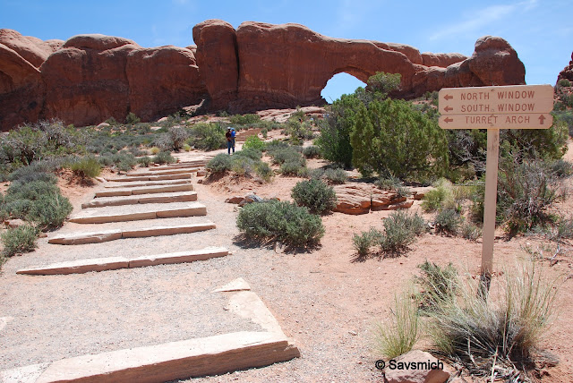 Windows entrance @ Arches