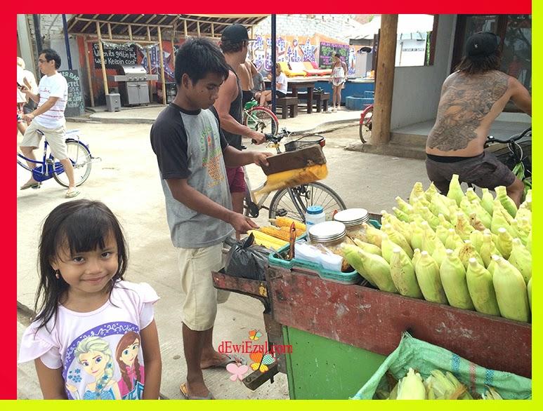 jalan jalan ke gili trawangan bersama anak