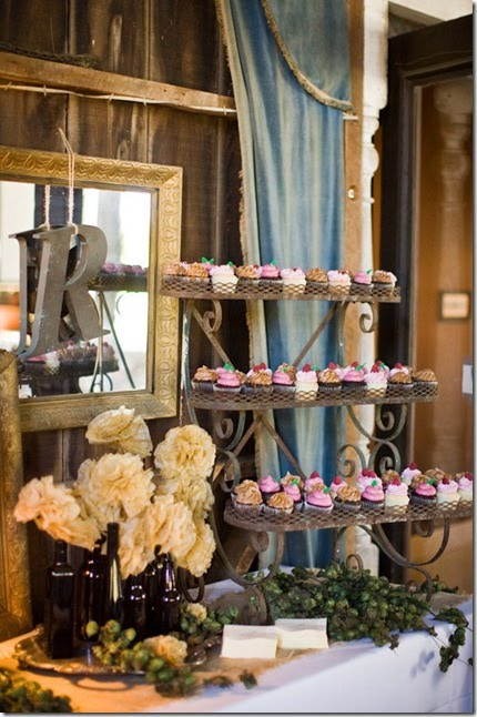 Rustic Chic Wedding Reception Ideas